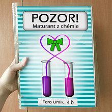 Papiernictvo - Pozor! Maturant z chémie - zakladač (prúžky) - 10779417_