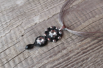 Náhrdelníky - náhrdelník so SW Crystal - 10781370_