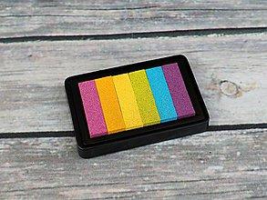 Farby-laky - Pečiatková poduška viacfarebná II. akosť - 10779823_
