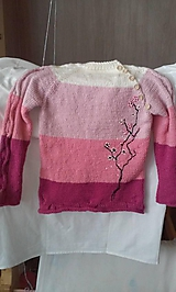 Detské oblečenie - svetrík staroružový - 10780822_