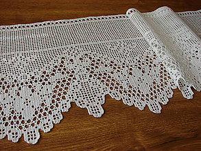 Úžitkový textil - vitrážová záclonka - 10781376_