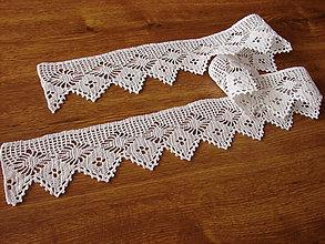 Úžitkový textil - háčkovaná čipka - 10781398_