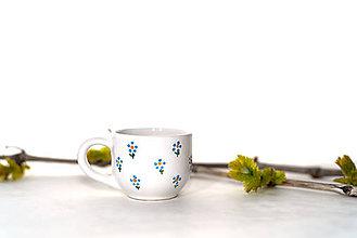 Nádoby - Picollo šáločka s kvietkami - 10780246_