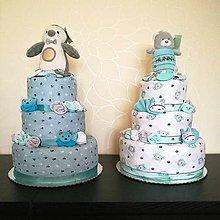Detské doplnky - Plienkova torta - 10780859_