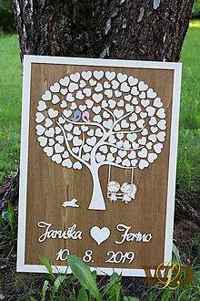 Dekorácie - Svadobný strom 120 ľudí - 10781867_