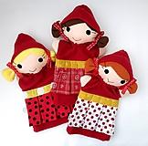 Hračky - Maňuška Červená čiapočka - na objednávku - 10781802_