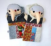 Hračky - Maňuška ježibaba (na objednávku) - 10781807_