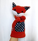 Maňuška líška - Lišiačik z Bodkova.