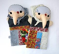 Hračky - Maňuška ježibaba - na objednávku - 10781807_