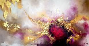 Obrazy - Srdce rubínu - 10782106_