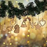 Dekorácie - Sada Vianočných Ozdôb 14ks - 10780481_