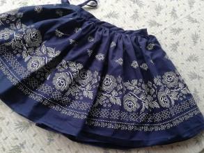 Detské oblečenie - Bohatá folklórna suknička - 10781951_