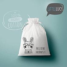 Iné tašky - Vrecko LittleLucy - zajačik III - 10780256_