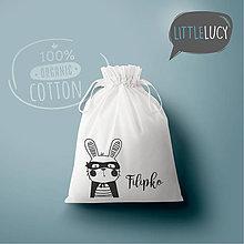 Iné tašky - Vrecko LittleLucy - zajačik I - 10780601_
