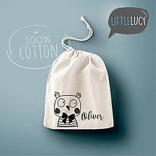 Iné tašky - Vrecko LittleLucy - sovička - 10780602_