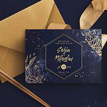 Papiernictvo - Svadobné oznámenie Magické - 10781008_