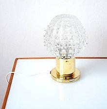Svietidlá a sviečky - Stolní lampička Diamant - 10780063_