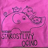 - Maľované pánske tričko pre starostlivého ocka (bez mien) - 10780259_