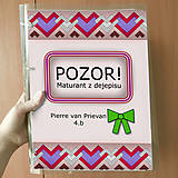 Papiernictvo - Pozor! Maturant z dejepisu - zakladač - 10781897_