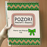 Papiernictvo - Pozor! Maturant z dejepisu - zakladač - 10781900_