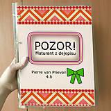 Papiernictvo - Pozor! Maturant z dejepisu - zakladač - 10781901_