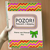 Papiernictvo - Pozor! Maturant z dejepisu - zakladač - 10781904_