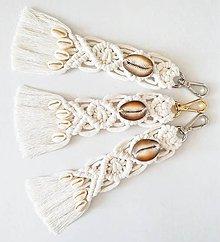 """Kľúčenky - Prívesok na kabelku/kľúčenka """"Seabreeze """" (Zlatá) - 10782679_"""