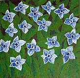 Obrazy - Modré narcisy - 10783235_