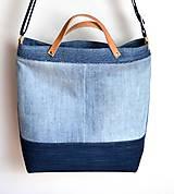 Veľké tašky - Veľká riflová taška - 10782452_