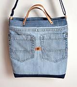 Veľké tašky - Veľká riflová taška - 10782454_