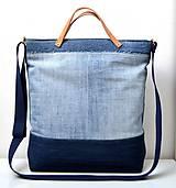Veľké tašky - Veľká riflová taška - 10782457_