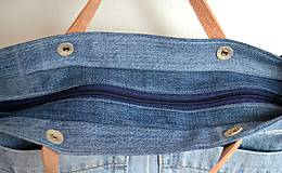 Veľké tašky - Veľká riflová taška - 10782458_
