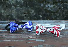 Doplnky - Pánsky motýlik (Modrá) - 10783240_