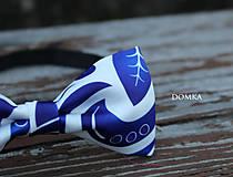Doplnky - Pánsky motýlik (Modrá) - 10783243_