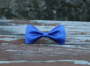Doplnky - Pánsky motýlik (Modrá-kráľovská) - 10783220_