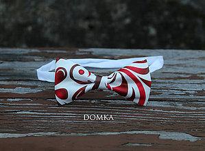 Doplnky - Pánsky motýlik (Červená) - 10783241_