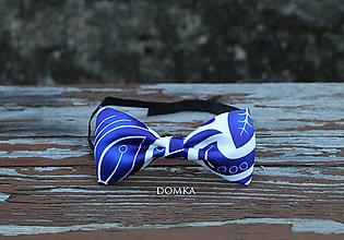 Doplnky - Pánsky motýlik (Modrá) - 10783242_