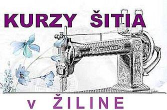 Kurzy - Kurz šitia v Žiline - SUKŇA - 10782318_