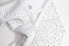 Textil - !Zľava! INDIGO detská prikrývka - Dážď - 10782600_