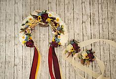 Náramky - Kvetinový náramok - 10782265_