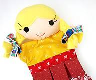 Hračky - Maňuška folk dievčinka - Jolanka - 10782830_