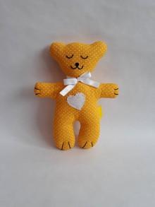 Hračky - #Macko, hračka (Žltá) - 10782987_