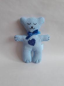 Hračky - #Macko, hračka (Modrá) - 10782988_