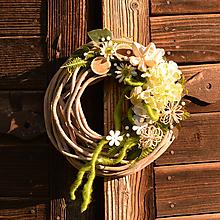 Dekorácie - Venček na dvere - 10782734_
