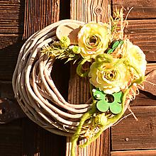 Dekorácie - Venček na dvere - 10782770_