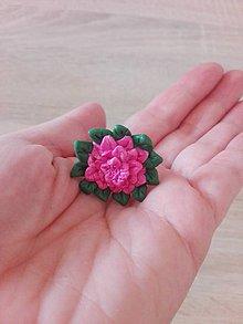 Prstene - Prsteň:Ružový kvet - 10783465_