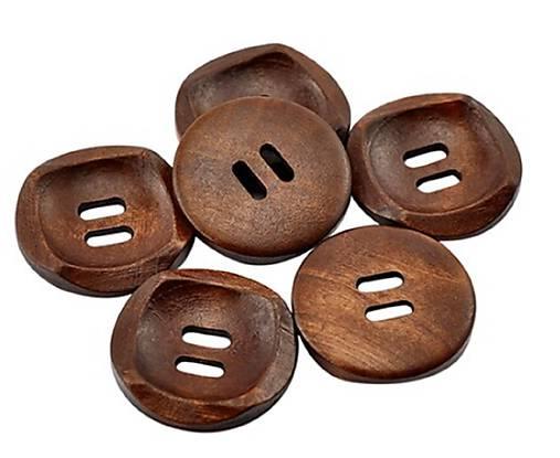 G190 Gombík drevený veľký 3 cm
