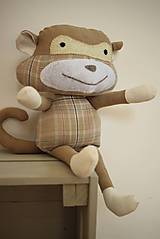 Hračky - Opica Danica - 10783104_