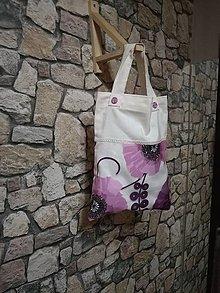 Iné tašky - Plátenka pre dievčatká - cesta do školy - 10784064_