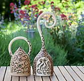 Svietidlá a sviečky - svietniky s ornamentami - 10782677_